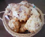 コーンフレークとチヨコチップのクッキー